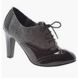 {Lane Bryant} Saddle Shoe Heel